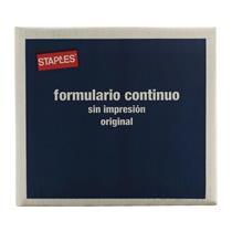 Formulário Contínuo 1 Via Microserrilhado 80 colunas 56g 240 x 140 mm Staples®