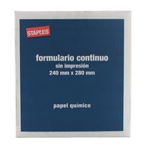 Formulário Contínuo 2 Vias Microserrilhado 80 colunas 55g Staples®