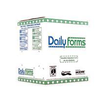 Formulário Contínuo Razão 80 Colunas 3 Vias Daily Forms 56g Branco Moore