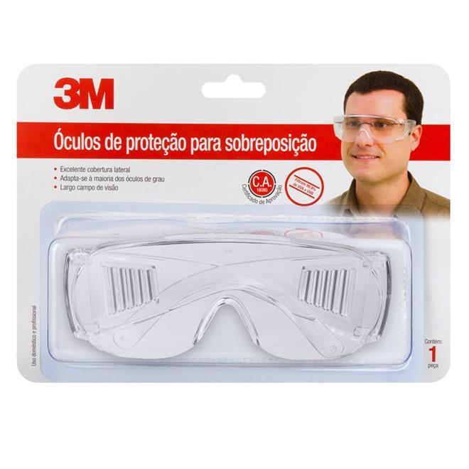 9003630fc86b2 Óculos de Proteção para Sobreposição 3M. Ampliar