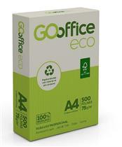 ba917e087 Papel Sulfite A4 Go Office Reciclado 210x297 mm 75g pcte 500 folhas